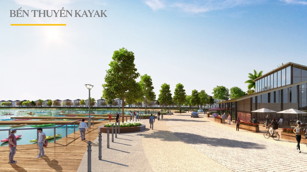 bến thuyền Kayak Aqua City