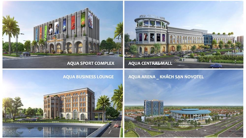 Tiện ích nội khu dự án Aqua City Biên Hòa Đồng Nai