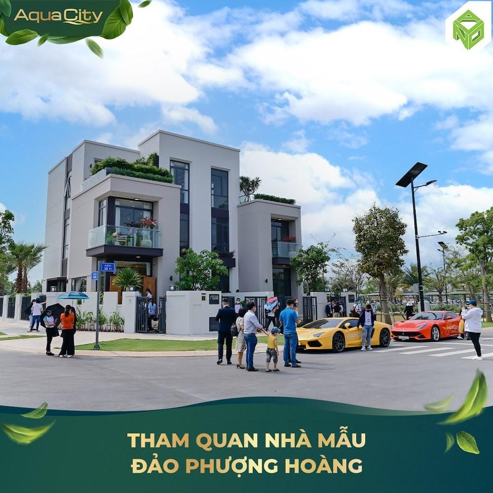 Tham quan nhà mẫu Aqua City - Đảo Phượng Hoàng