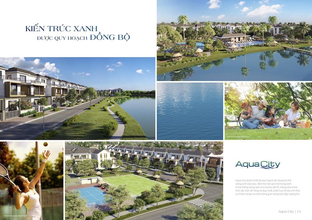 Aqua City - Tiện ích sinh thái đồng bộ