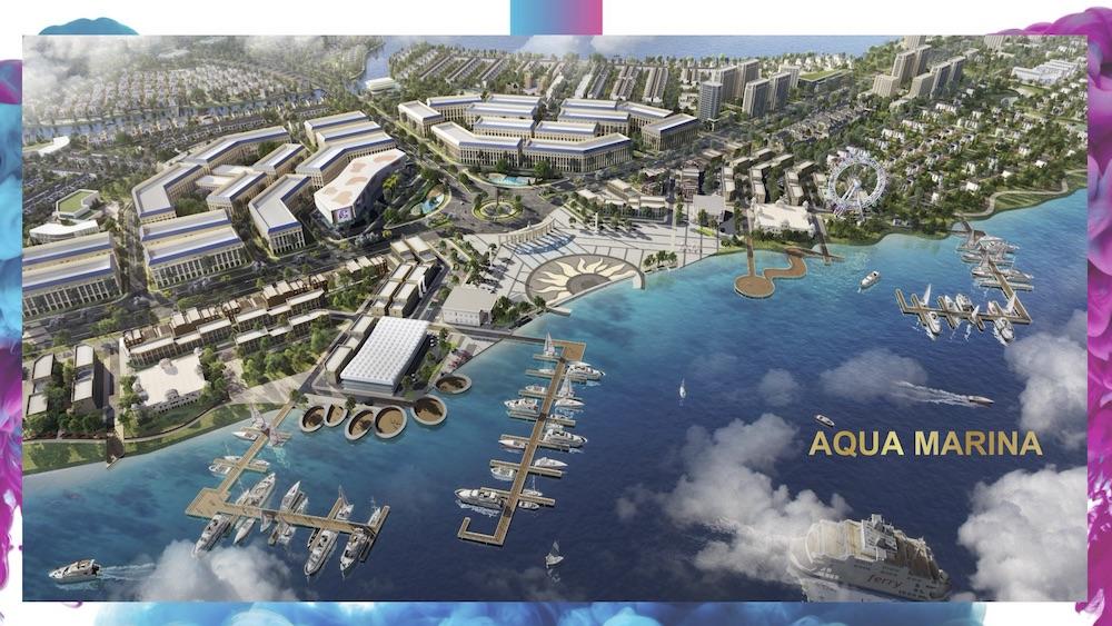 Aqua Marina - Khu đô thị Aqua City