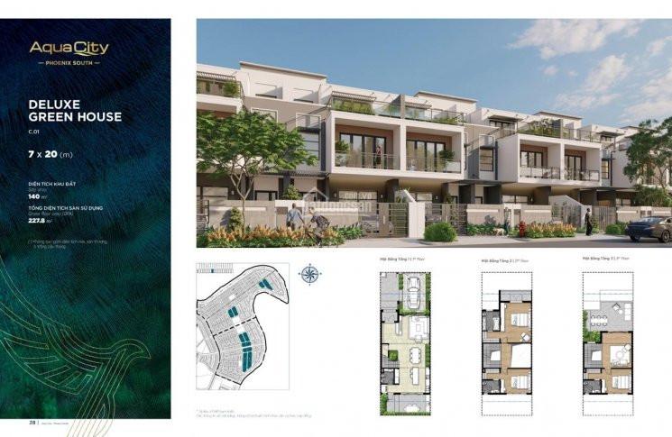 Nhà phố 7x20 Đảo Phượng Hoàng - Aqua City