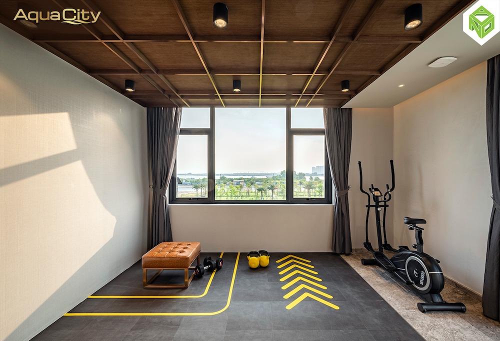 Phòng GYM - biệt thự mẫu Aqua City 17x20 - Đảo Phượng Hoàng