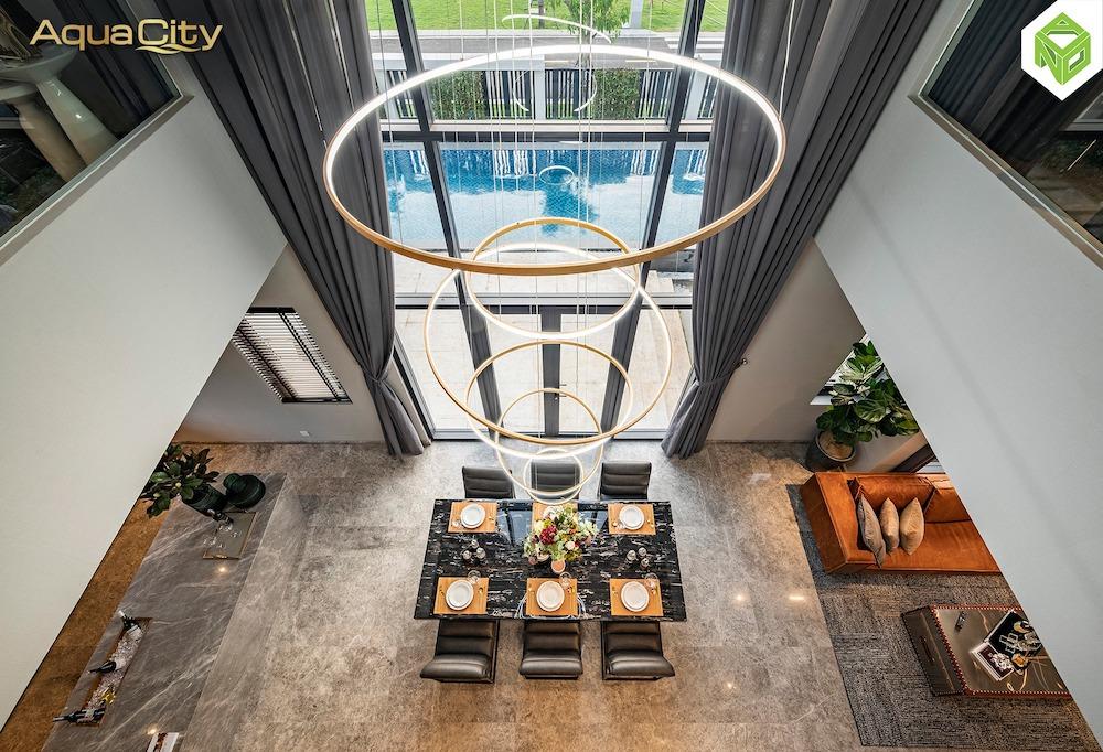 Phòng ăn - biệt thự mẫu Aqua City 17x20 - Đảo Phượng Hoàng