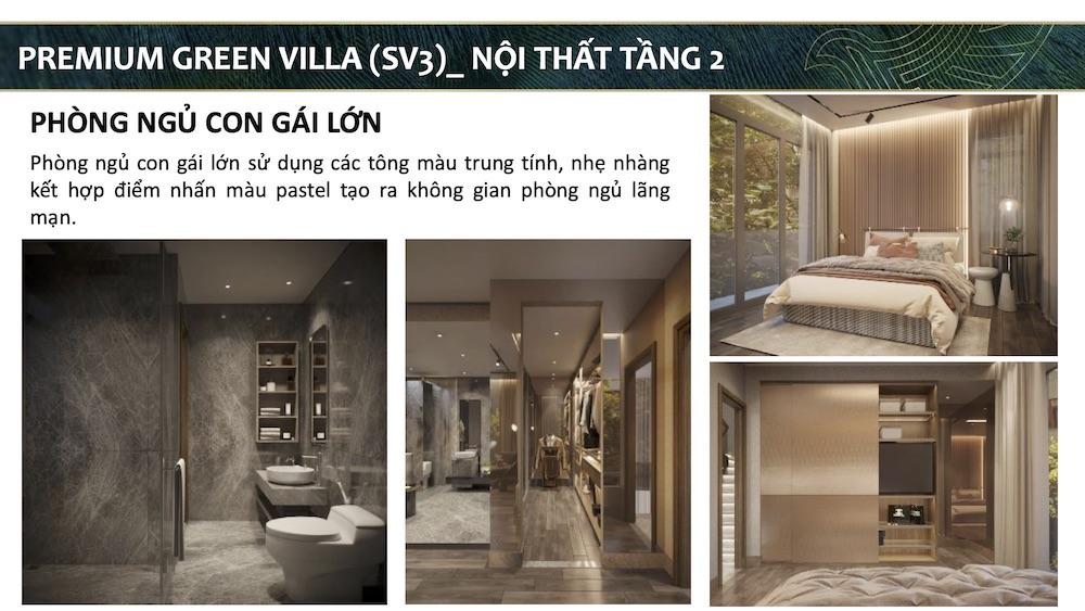 Phòng ngủ con gái - Biệt thự mẫu Aqua City - Đảo Phượng Hoàng