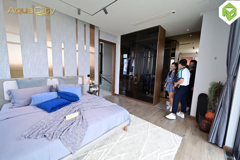 Phòng ngủ con gái lớn - biệt thự mẫu Aqua City 17x20 - Đảo Phượng Hoàng