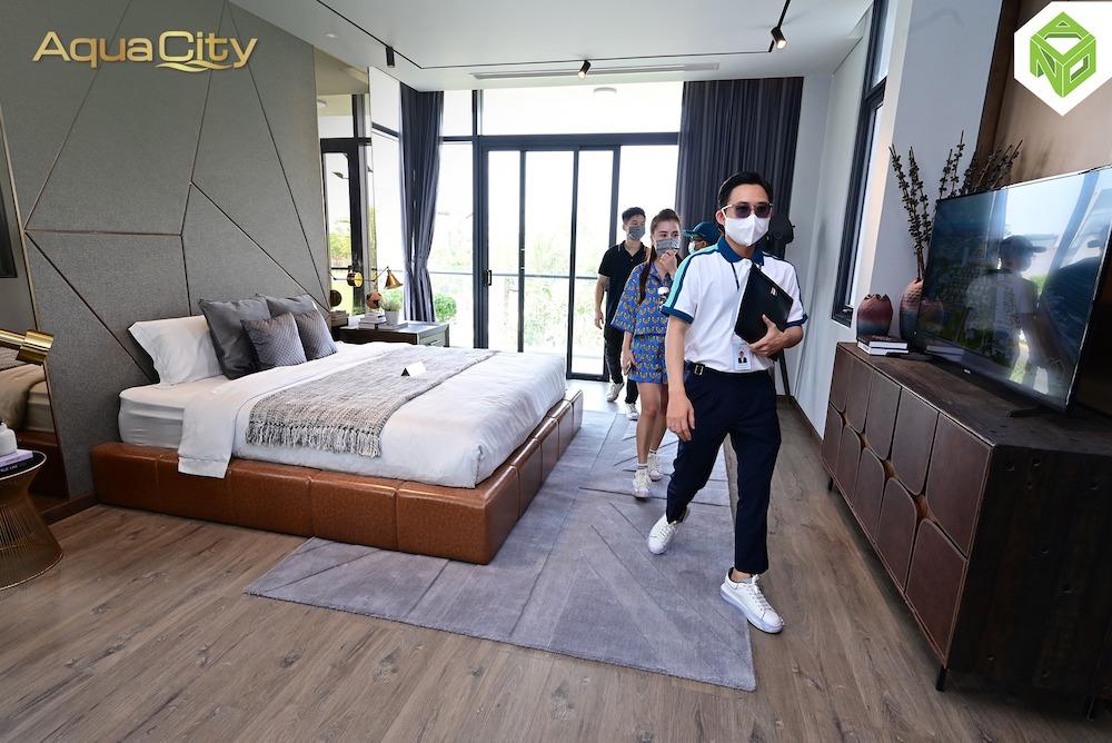 Phòng ngủ con trai lớn - biệt thự mẫu Aqua City 17x20 - Đảo Phượng Hoàng