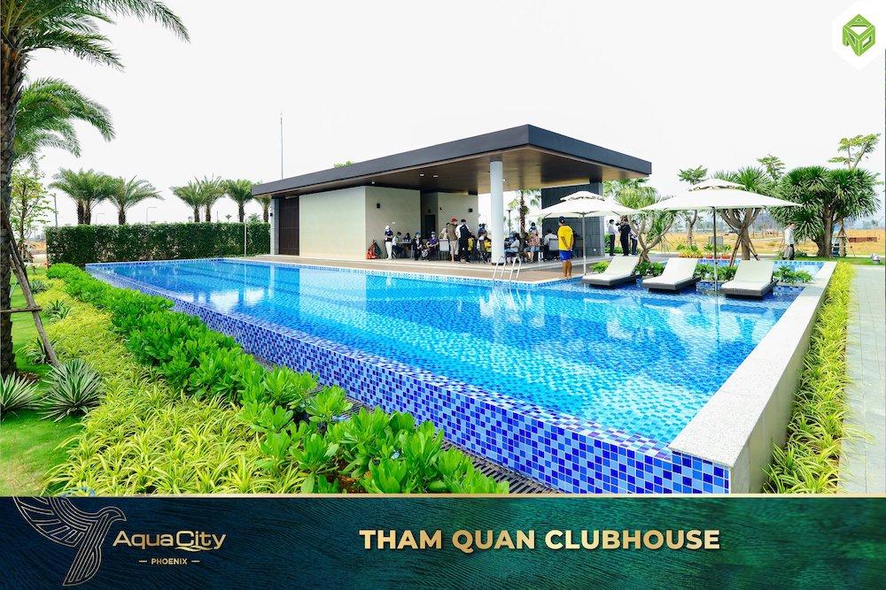 Tham quan nhà mẫu Đảo Phượng Hoàng - Aqua City - CLubhouse