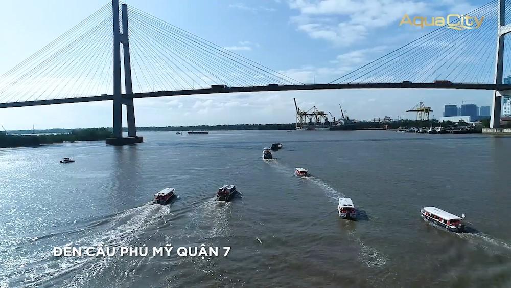 Tham quan nhà mẫu Đảo Phượng Hoàng - Aqua City - Cano qua cầu Phú Mỹ Q7