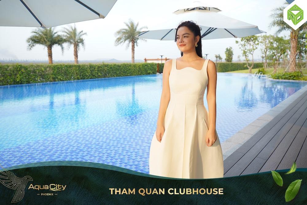 Tham quan nhà mẫu Đảo Phượng Hoàng - Aqua City - Club House