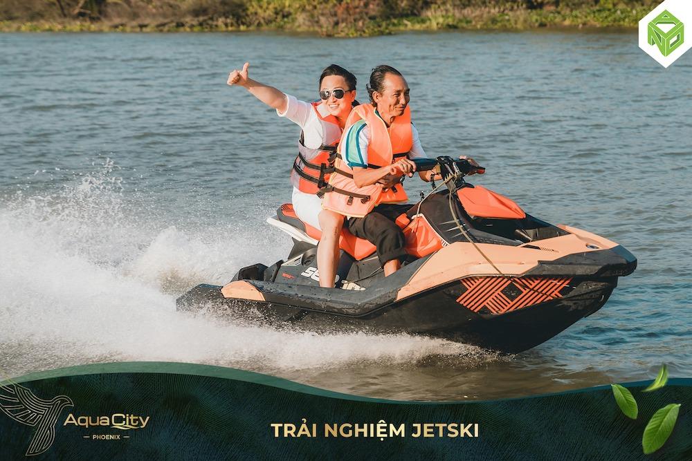 Tham quan nhà mẫu Đảo Phượng Hoàng - Aqua City - Trải nghiệm JeySki