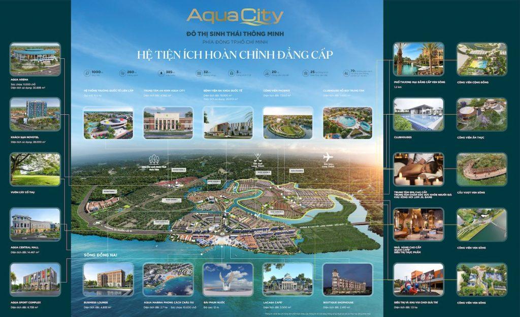 Tổng hợp tiện ích Aqua City 1200