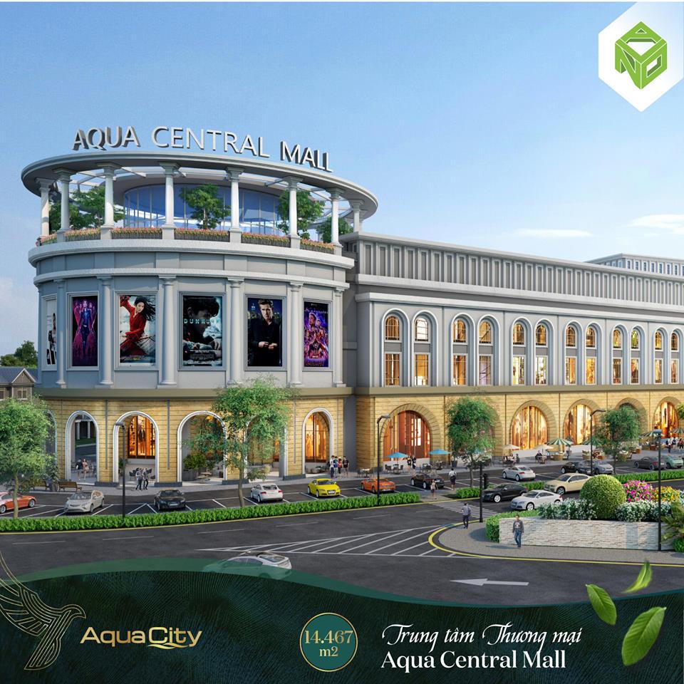 Trung tâm thương mai Aqua Central Mall - Khu đô thị Aqua City