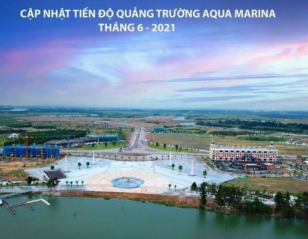 Aqua Marina - Tiến độ 06.2021