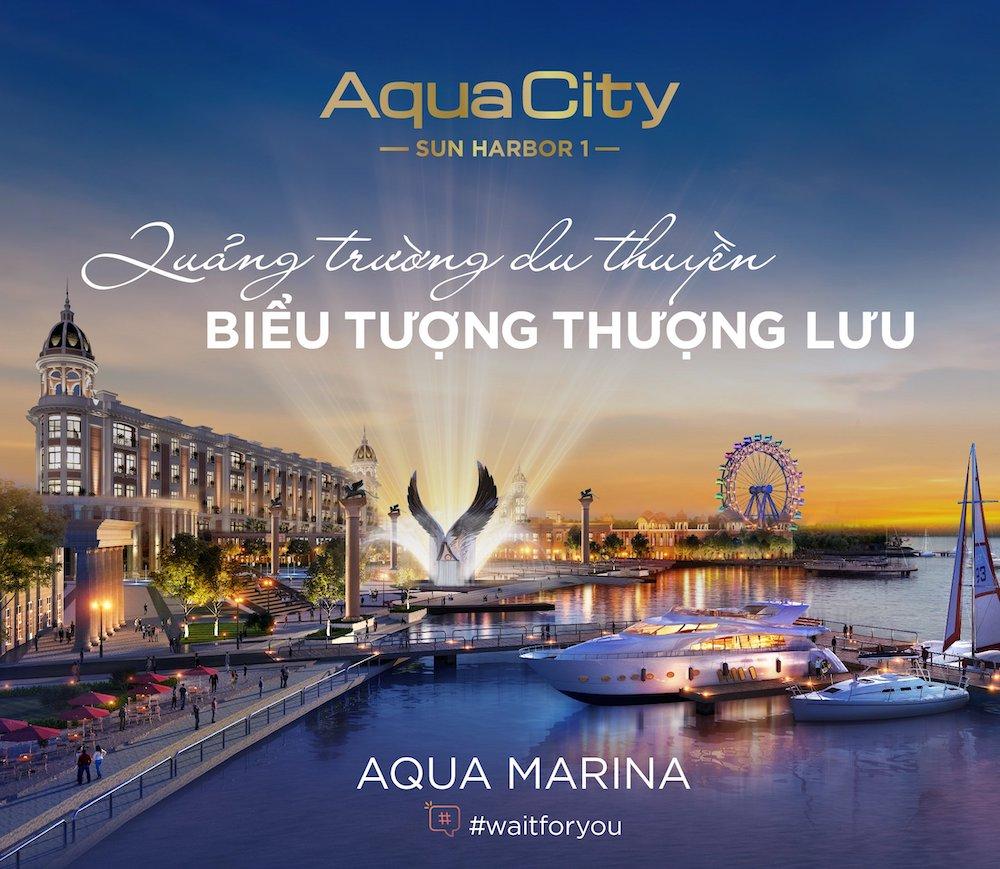 quảng trường marina Aqua City