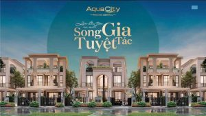 Aqua City - Biệt thự song lập 7x25m