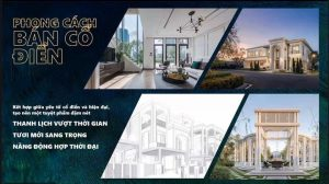 Aqua City - Biệt thự song lập 7x25m - phong cách bán cổ điển