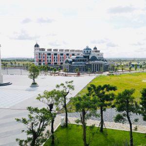 Tien do Aqua City 08.2021 - Quảng trường Aqua Marina